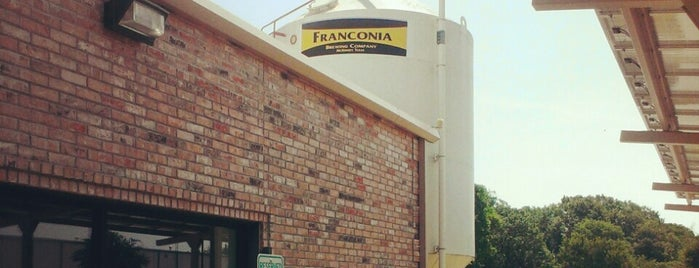 Franconia Brewing Company is one of Texas Craft Breweries.
