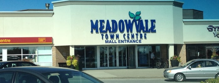 Meadowvale Town Centre is one of Malls in the GTA.