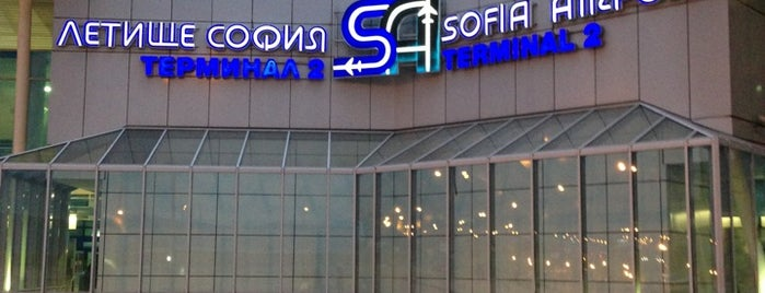 Sofia Airport (SOF) is one of #WCEU 2014.