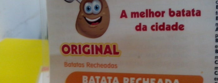 Original Batatas Recheadas is one of Restaurantes.