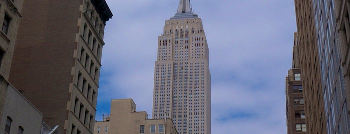 Empire State Building is one of New York City.