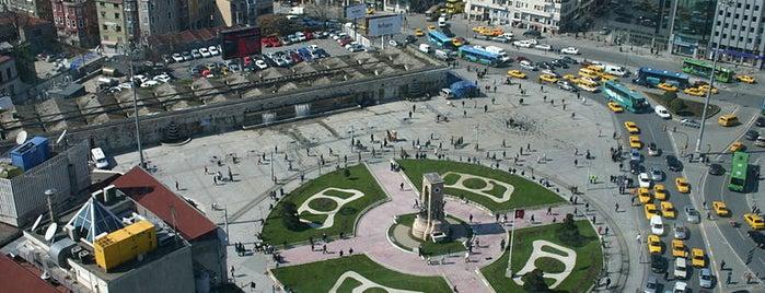 Taksim Meydanı is one of Istanbul 2014.