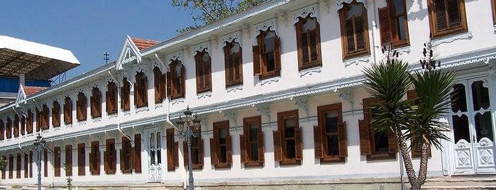 Yıldız Sarayı is one of Tarih/Kültür (Marmara).