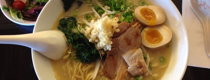 Silver Lake Ramen is one of LA: Central, East, Valleys.