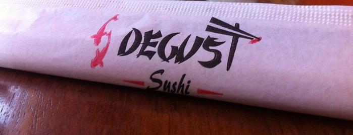 Degust Sushi is one of Japonês.