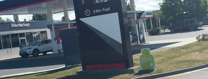Mobil is one of New Zealand.