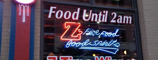Z's Bar & Restaurant is one of favorite places.