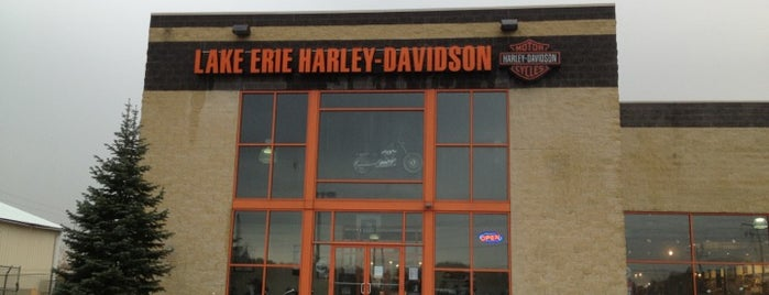 Lake Erie Harley-Davidson is one of GOOD TIPS.