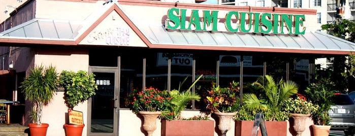 Siam Cuisine is one of Gayborhood #FortLauderdale #WiltonManors.