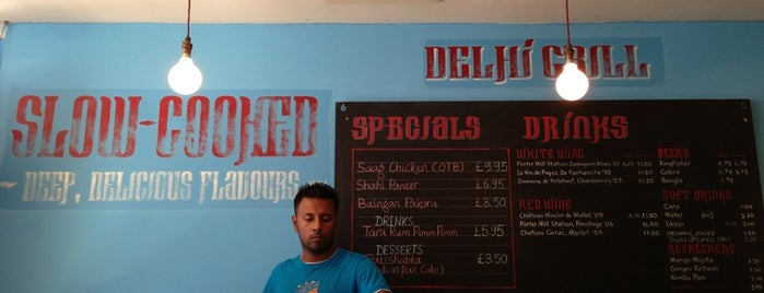 Delhi Grill is one of Relaxed London Food.