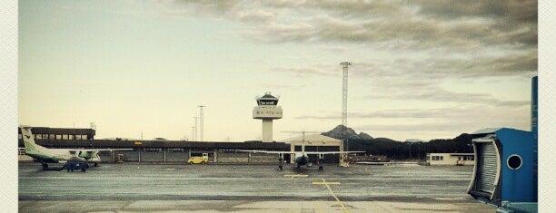 Bergen Lufthavn, Flesland (BGO) is one of Frequently visited.
