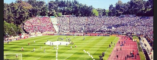 Estádio Nacional do Jamor is one of UEFA Champions League finals.