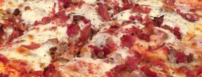 Jockamo Upper Crust Pizza is one of Places to eat in INDY.