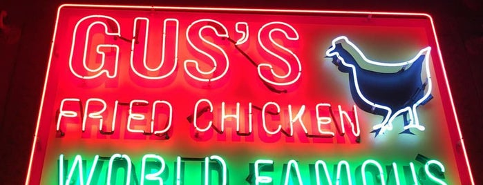 Gus's World Famous Fried Chicken is one of Los Angeles.