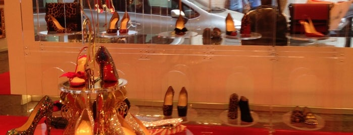 Christian Louboutin is one of Moscow New Wave.