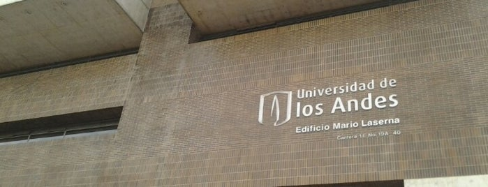 Universidad de Los Andes is one of Universidades Colombia.