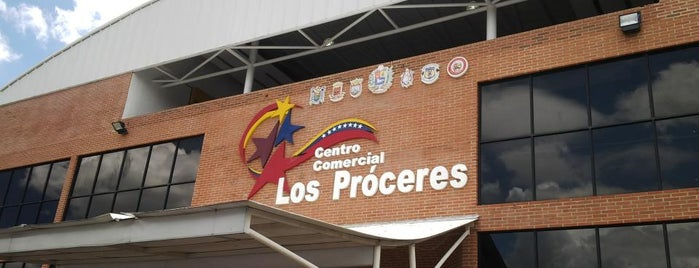 C.C. Los Próceres is one of Lugares Visitados.