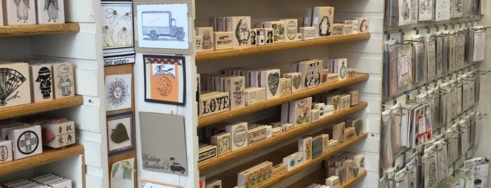 Blade Rubber Stamps Ltd. is one of Best unusual UK shops - reader tips.