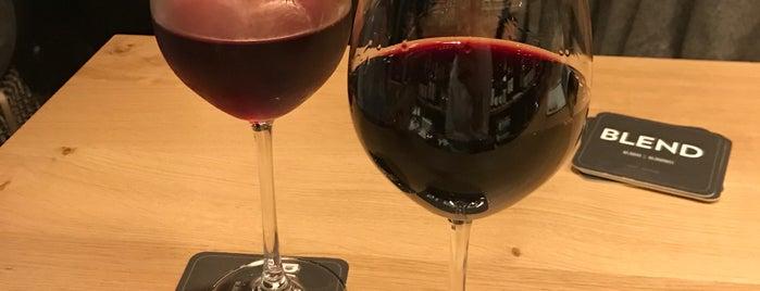 BLEND wijnbar en wijnwinkel is one of Brussels & Belgium.