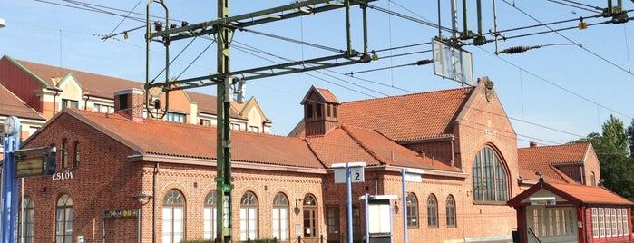 Eslöv Station is one of Tågstationer - Sverige.