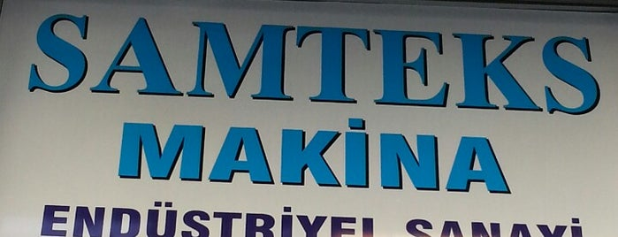 Samteks Makina is one of Konfeksiyon Makineleri / Sewing Machine Dealers.