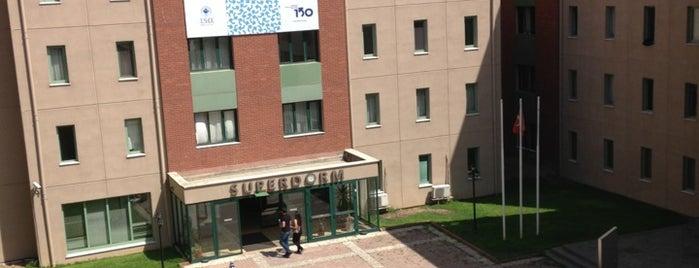 Superdorm is one of Bogazici University.
