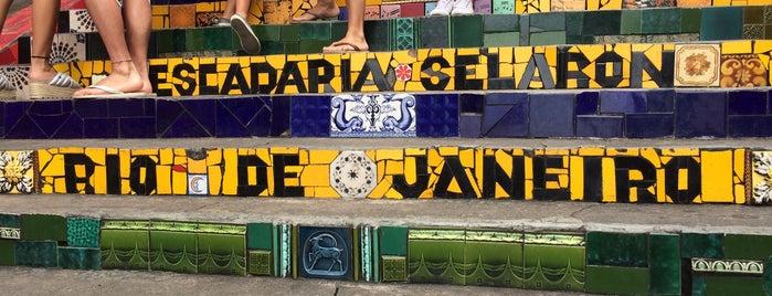 Escadaria de Selarón is one of Travel Guide to Rio de Janeiro.