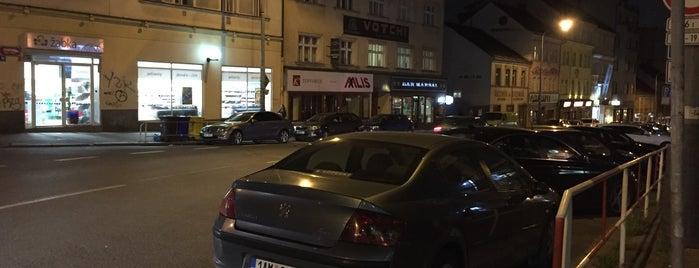 Koněvova is one of Žižkovský průvodce Restaurace Záležitost.
