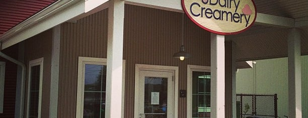 UDairy Creamery is one of Eat Local.