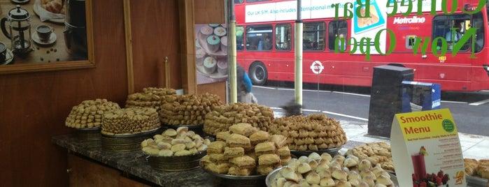 Phoenicia Mediterranean Food Hall is one of HFA in London: Delicatessen.