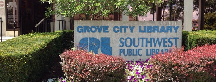 Southwest Public Libraries: Grove City Branch is one of Ohio Libraries.
