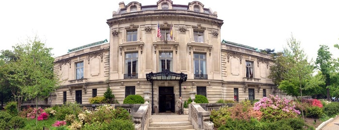 Cosmos Club is one of DC's favorites.