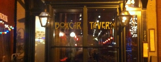 Boxcar Tavern is one of Alcohol: Cocktails, Whisky, Beer.