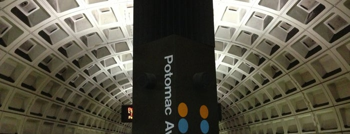 Potomac Avenue Metro Station is one of WMATA Train Stations.