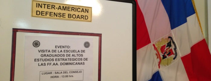 Inter-American Defense Board is one of DC's favorites.