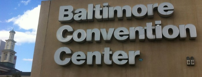 Baltimore Convention Center is one of Places I have gone.