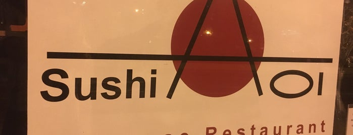 Sushi Aoi is one of Recommendations from you to me 4square and 4cast.