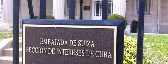 Embassy of Cuba in USA is one of DC's favorites.