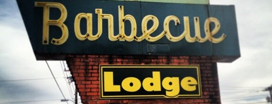 Bridges Barbecue Lodge is one of 500 Things to Eat & Where - South.