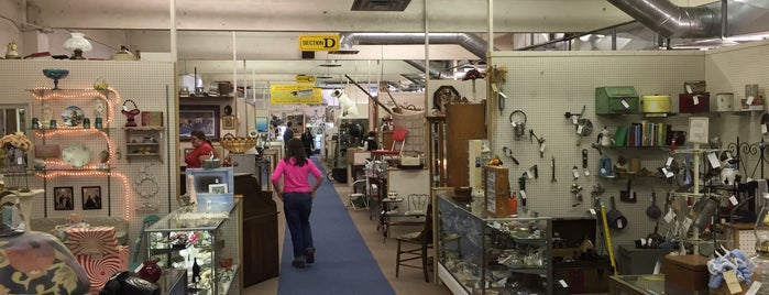 Main Antique Mall is one of Favorite Places to Look & Shop.