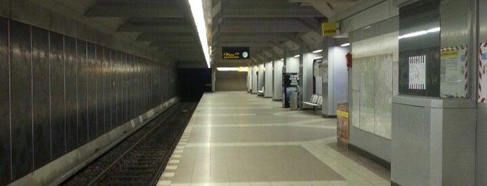 U Haselhorst is one of U-Bahn Berlin.