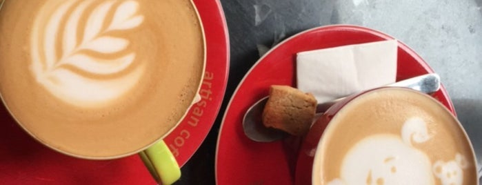 Brew CoffeeWorks Karakoy is one of Turkey.