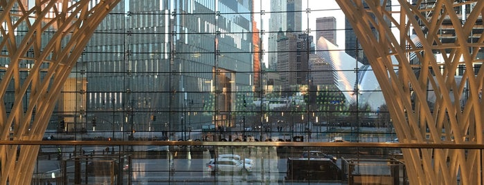 Brookfield Place - BFPL is one of The New Yorkers: Tribeca-Battery Park City.