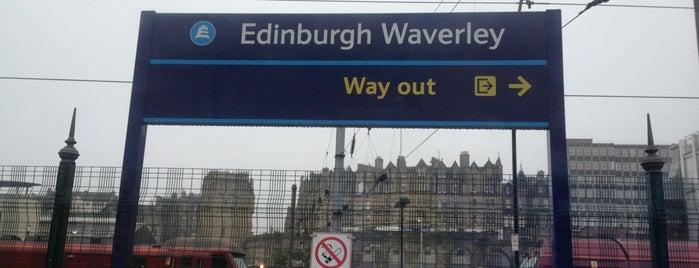 Edinburgh Waverley Railway Station (EDB) is one of East Coast Network.