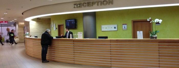 Clarion Congress Hotel Prague is one of Konferenční prostory v Praze.