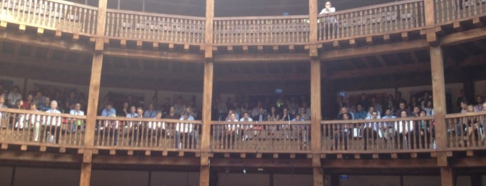 Globe Theatre is one of Rome.