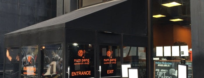 Num Pang Sandwich Shop is one of Restaurants NYC.
