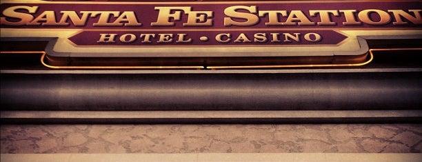 Santa Fe Station Hotel & Casino is one of CASINOS.