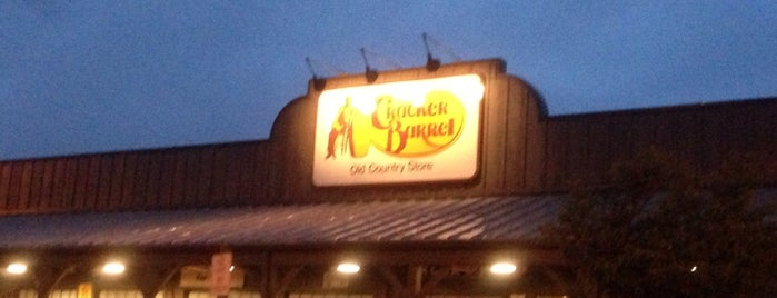 Cracker Barrel Old Country Store is one of Best restaurants.
