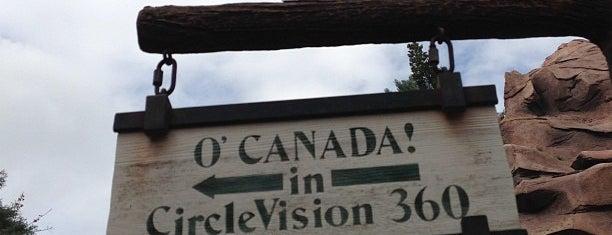 O Canada! is one of Walt Disney World - Epcot.